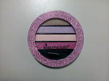 Kiss Me Kate Shimmer Eye Shadow Set In Pink Glitter Case