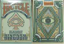 Bicycle Blackout Kingdom Light Shade Playing Cards – Limited Edition - SEALED