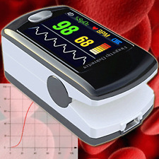 PULSOXYMETER BLOOD VALUES HEARTBEAT OXYGEN SATURATION PULSE FREQUENCY ECG OM3