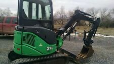 Hydraulic thumb claw John Deere 27D, & Hitachi ZX27 &  Mini Excavator Pin On