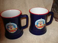 Set of 2 Warner Brothers The Polar Express Tour I Believe Hot Chocolate Cup Mugs