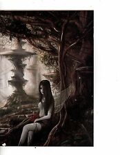 Unframed Art Poster Fantasy Gothic Butterfly Nymph(m92)