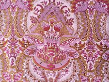 By 1/2 Yard Amy Butler Cotton Fabric ~ Alchemy ~ Flora in Rosebud ~ Pink Damask