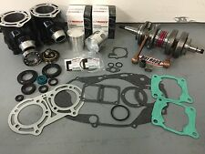 Yamaha Banshee 64mm Stock Cylinders Top Bottom End Complete Motor Rebuild Kit
