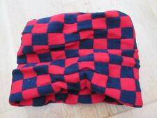 Girls Boys Kids Neck Warmer Tube Scarf Snood Red & Blue