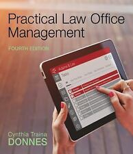 Practical Law Office Management by Cynthia Traina Donnes (2016, Paperback /...