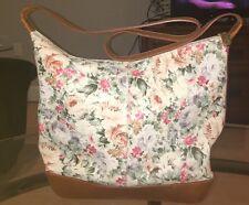 Vintage Furla Floral Leather Bag