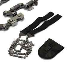Tactical Strong Hand Chain Saw Edc Bushcraft Survival Prepping Hunting Camping
