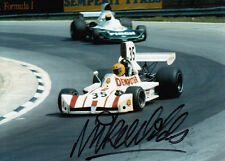 Mike Wilds Hand Signed March F1 Photo 7x5 1.