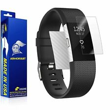 ArmorSuit MilitaryShield - Fitbit Charge 2 Screen Protector + White Carbon Fiber