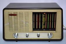 50's Vintage Cambridge International Bakelite Tube Radio PE39U [PL1993]