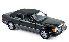 Modell Auto 1:18 Mercedes-Benz 300 CE-24 Cabriolet 1990 schwarz  Norev 183566