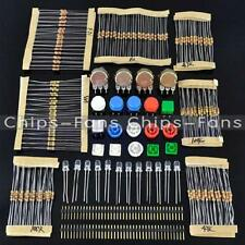 New Electronic Parts Pack KIT for ARDUINO component Resistors Switch Button
