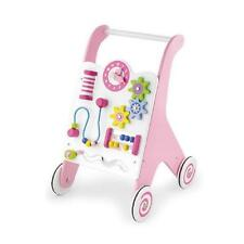 Viga Wooden Baby Walker/ Activity Centre - Pink
