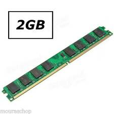 MEMORIA RAM 2GIGA PC DESKTOP DDR2 667MHz PC2-5300 667D2N5/2G 240 PIN AMD & INTEL
