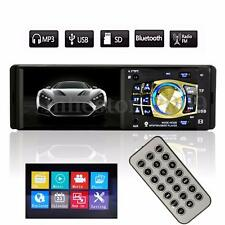 4.1'' HD Car Stereo Audio Single 1 DIN In-Dash MP5 Video Player Bluetooth 12V