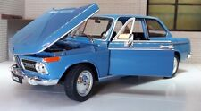 G LGB 1:24 Scale Blue BMW 2002 Ti Tii 1966 Detail Welly Diecast Model Car 24053
