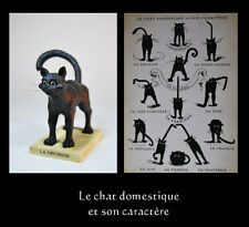 "LE CHAT DOMESTQUE KATZEN - SKULPTUR "" LA DÉCISION """