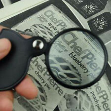 Mini Pocket 8X 50mm Folding Jewelry Magnifier Magnifying Eye Glass Loupe Lens CN