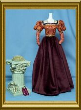 OOP Barbie Juliet Renaissance dress with shoes clothes fits Silkstone deboxed CE