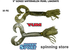 ARTIFICIALE  SILICONICO YUM GONZO GRUB WATERMELON PEARL LAMINATE 5""