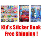 Kids Boys Girls Character Sticker Book Xmas Gift Party Family Game Fun Time Toy