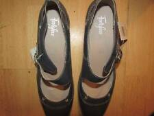 SIZE 8 LADIES LEATHER  FOOTGLOVE MARY JANE SHOES MARKS AND SPENCER FREEPOST