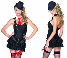 SEXY MAFIA PRINCESS MOBSTER GANGSTER ADULT WOMENS COSTUME HALLOWEEN DANCER NEW
