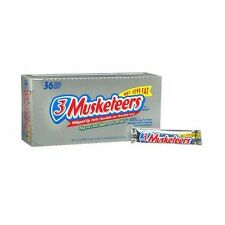 3 Musketeers Candy Bar 2.13 oz Full Size Chocolate Bars - 36 ct