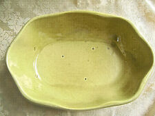 LARGE PRIMITIVE YELLOW/GOLD ALABAMA POTTERY BOWL