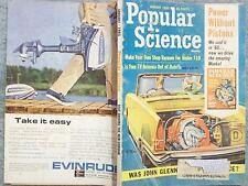 1965 POPULAR SCIENCE JANUARY  POWER WITHOUT PISTONS  WAS JOHN GLENN INJURED IN S
