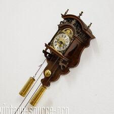 Nobile WUBA Warmink BIM BAM Zaanse clock pendolo orologio da parete con fase lunare anni 30er
