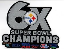 PITTSBURGH STEELERS PATCH 6X SUPER BOWL CHAMPION SUPERBOWL CHAMP SUPERBOWL 51 ?