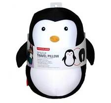 Zip & Flip Penguin Travel Pillow Head Rest by Kikkerland