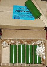 10pcs x K75-10 1.5uF 500V PIO Capacitors, military, Hi-End ! NOS. (Lot  10 pcs)