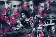 Fight Club Alternative Movie Poster by Vlad Rodriguez No. /60 NT Mondo