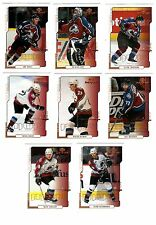 1X COLORADO AVALANCHE 2000 01 UD MVP FULL TEAM SET Lots Available SAKIC ROY