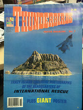 THUNDERBIRDS POSTER MAGAZINE No 7 GERRY ANDERSON 1992