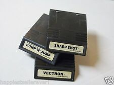 Intellivision Bump n and Jump Sharp Shot Vectron Intellivision Video Game System