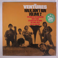 VENTURES: Walk, Don't Run Vol. 2 LP (abridged reissue, shrink) Oldies