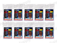 1000 ULTRA PRO STANDARD CARD SLEEVES 10 Packs Penny New Lot