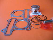 Piston 44mm Rings Pin Gasket Clips Kit Honda GY60 GY6 139QMB 4-Stroke
