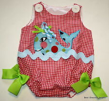 RITZY TOTS Boutique Sassy Whate Bubble Outfit Baby Girl Size 6 Months Clothes