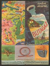 BUTAGAZ BROCHURE PUBLICITE VERS 1950