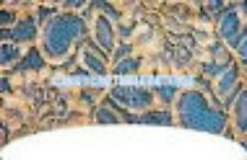 20 WATER SLIDE NAIL ART TRANSFERS DECALS BLUE LACE FRENCH TIP