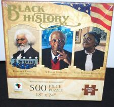 Black History Month African American Puzzle Fredrick Douglass Leaders Jigsaw