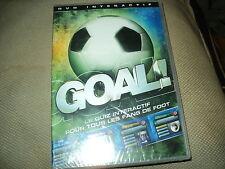"""DVD INTERACTIF NEUF """"GOAL - LE QUIZ POUR TOUS LES FANS DE FOOT"""""""