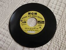 SAM THE SHAM AND THE PHARAOHS HOW DO YOU CATCH A GIRL/ONE YOU LEFT  MGM 13649