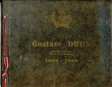 ALBUM SOUVENIR Gustave Dron Sénateur du Nord Maire de Tourcoing 1856-1930