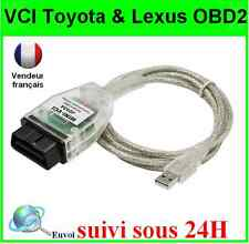 INTERFACE CABLE MINI VCI J2534 OBD2 TOYOTA LEXUS SCANNER DIAGNOSTIQUE TECHSTREAM